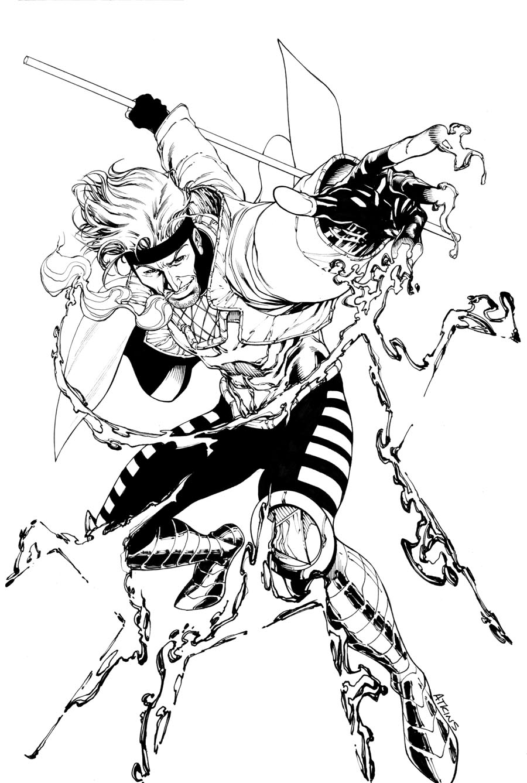 Robert Atkins Art: De name is Gambit!...Remember it!