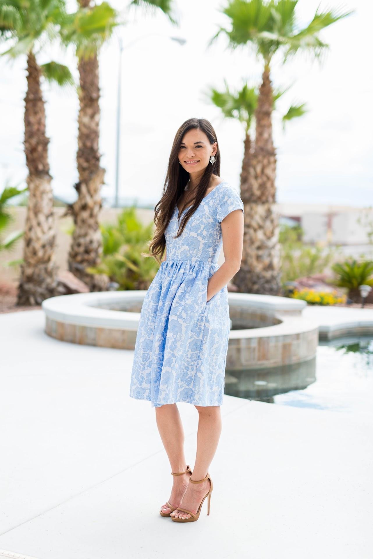 mormon fashion blogger, modest style blogger, lds, asian, korean, san francisco bay area fashion blogger, california, eshakti dress review, forever 21 faux leather ankle strap sandals, ysl dupes