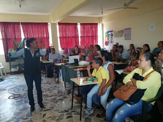 Promueve SSP Acapulco prevención del delito en escuelas