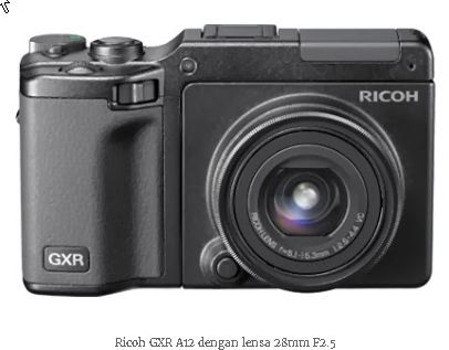 Harga dan Spesifikasi Kamera Ricoh GXR+A16 Kit  b01910d765