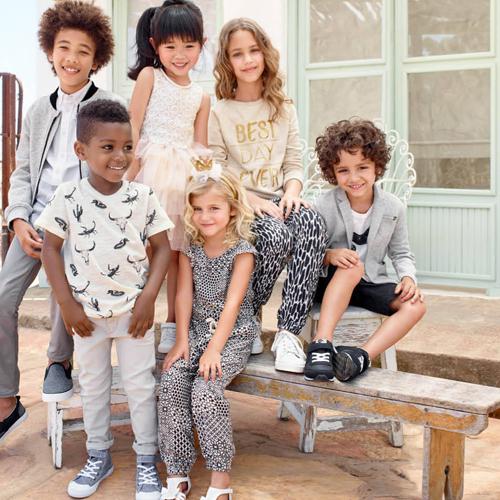 Moda infantil H&M catálogo primavera verano 2016