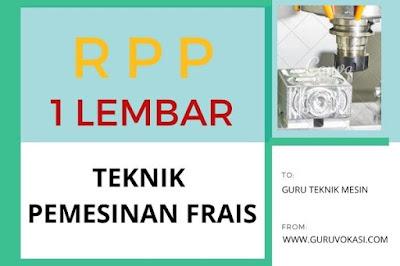 download rpp teknik pemesinan frais