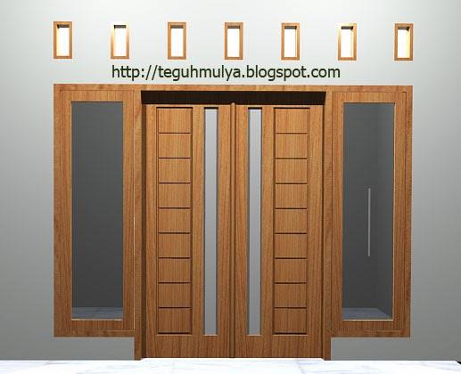 PD TEGUH MULYA Hình ảnh khung cửa tối giản