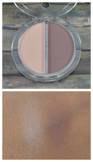 Essence contouring eyeshadow Set 01 mauve meets marshmallows Swatches