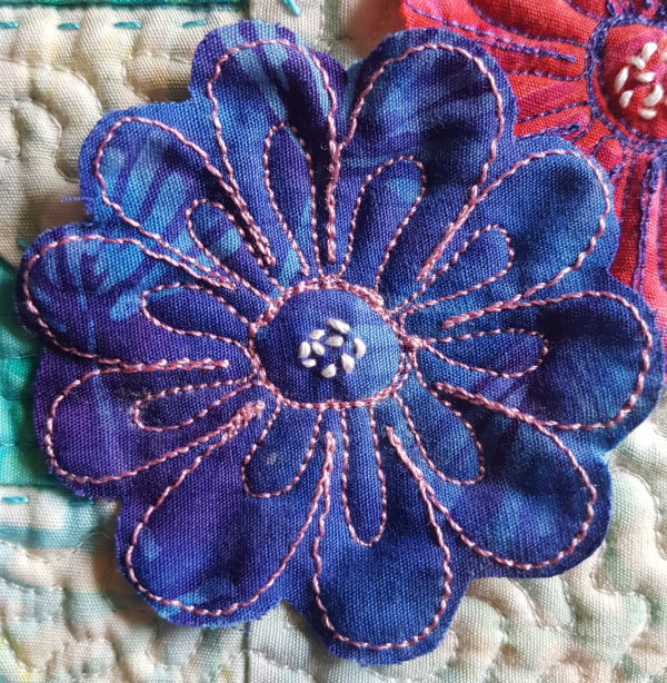 free motion embroidery and quilting   DevotedQuilter.com