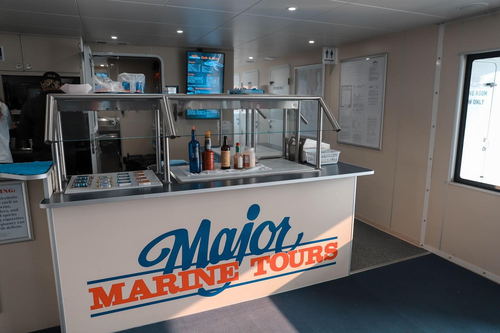Major Marine Tour Boat, Kenai Fjords