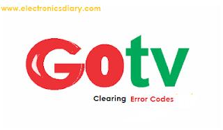 gotv error code clear
