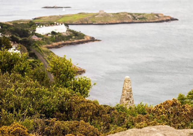 Best Dublin Walks: View of Dublin Bay from Killiney Hill
