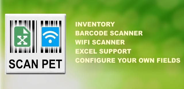 تنزيل Inventory & Barcode scanner & WIFI scanner- ماسح الباركود ، ونظام إدارة المخزون و ماسح الباركود واي فاي في تطبيق واحد