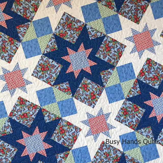 Falling T/'s Quilt Pattern Pieced CT