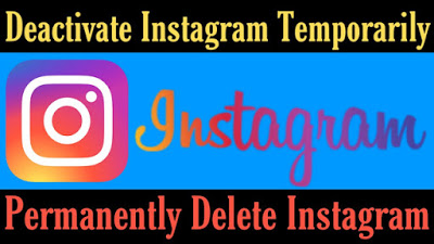 Instagram Account Deactivated (Permanently Delete) Kaise Karen In Hindi