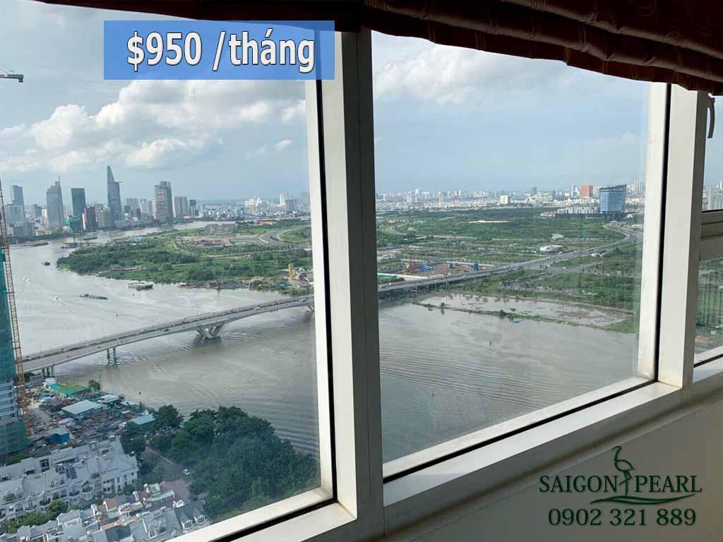 Thuê chung cư Saigon Pearl tòa Ruby 1 tầng cao 84m2  - hình 1