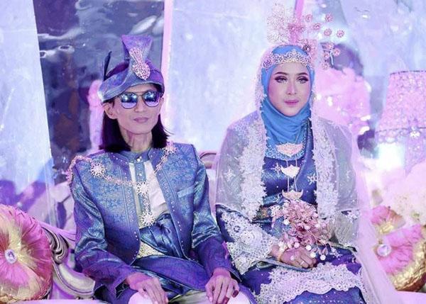 Gambar Majlis Resepsi Kahwin Zamani Slam dan Nur Juliana