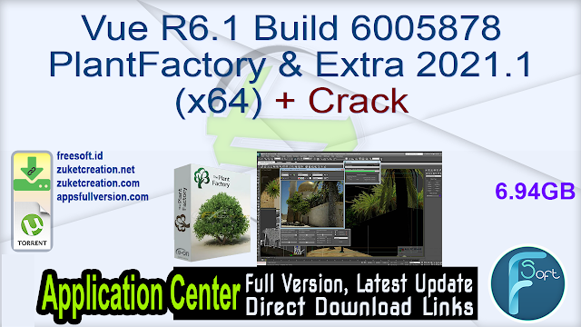 Vue R6.1 Build 6005878 PlantFactory & Extra 2021.1 (x64) + Crack