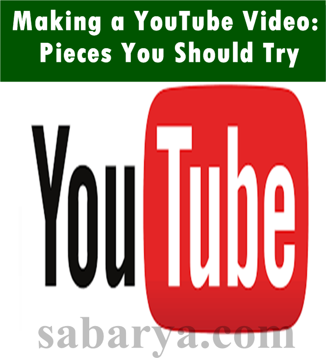 YouTube Video: Pieces You Should Try,budget youtube 2017,learn how to make youtube videos,youtube content creator tips,learn how to be a youtuber,youtube video making courses,learn about youtube,youtube training,youtube production