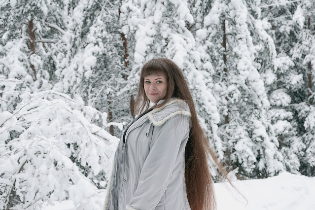 Уход за волосами зимой: фото