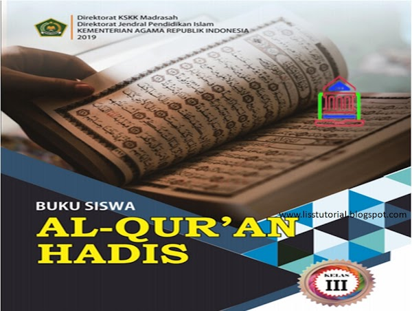 Download Buku Al-Qur'an Hadis Kelas 3 MI Kurikulum 2013 Edisi Revisi 2019