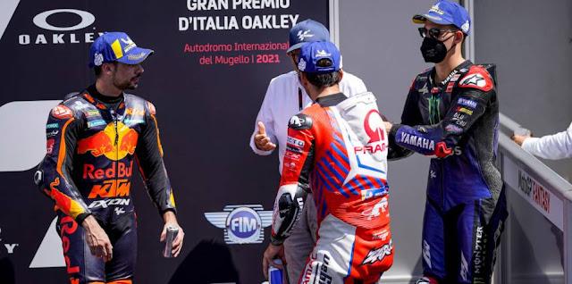 MotoGP Italia 2021: Oliveira dan Mir Langgar Track Limit, Kok Posisi 2 Tidak Diberi Ke Zarco ?