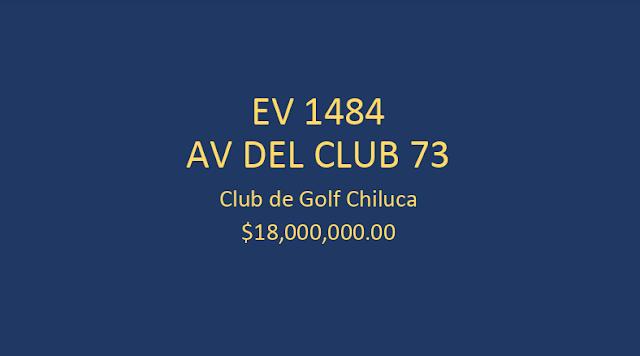 Discreta y elegante residencia en el  Club de Golf Chiluca