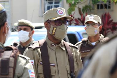 Coronel Paixão - comandante do Policiamento Regional Leste (CPRL)
