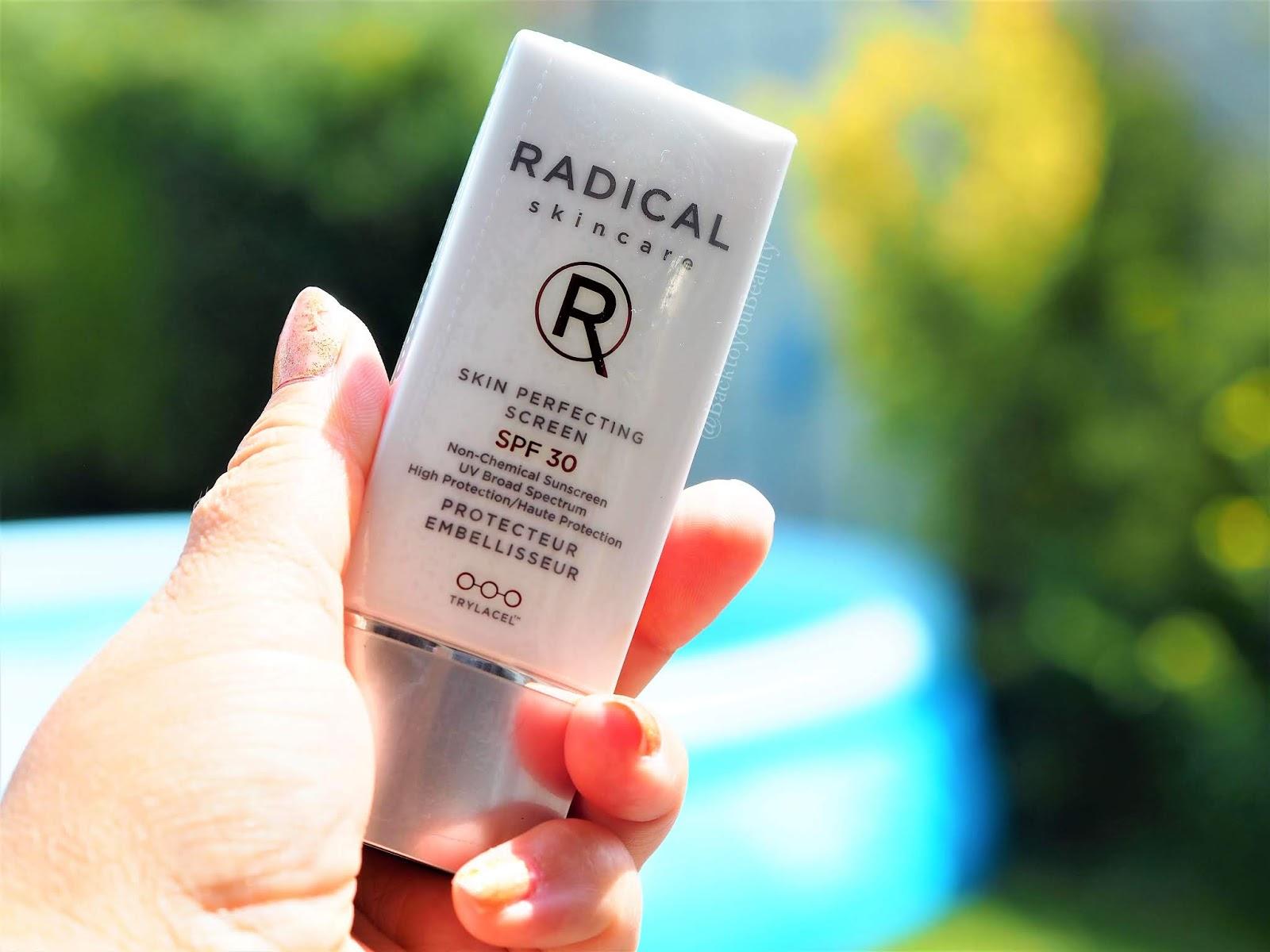 Radical skincare spf
