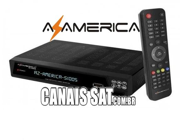 Azamerica S1005 HD Nova Atualização V1.09.21658 - 22/06/2020