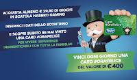 """Concorso Hasbro """"Vinci un'ora felice, sarà indimenticabile"""" :  vinci buoni Tantosvago da 400euro !"""