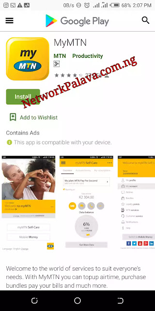 MyMTNApp Android Download