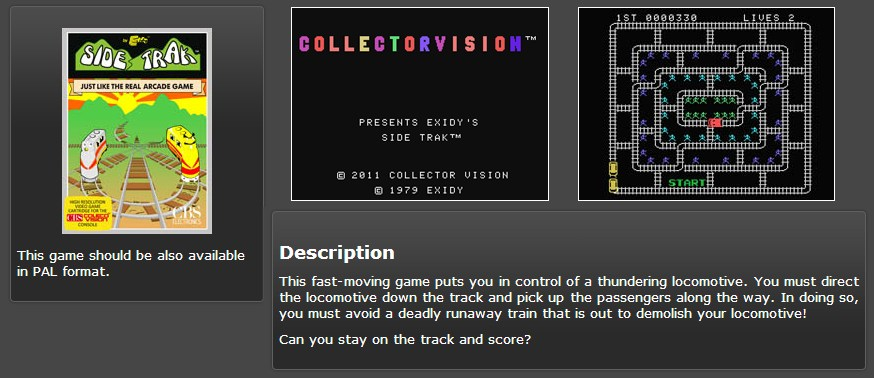 Collectorvision Roms