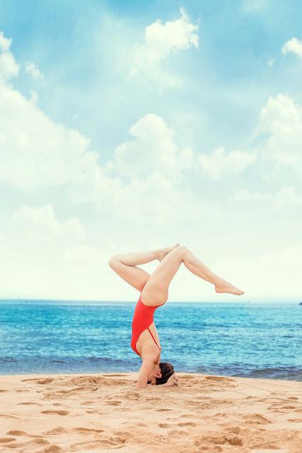 Nhờ tập luyện yoga mà Phương Trinh có thân hình khỏe đẹp