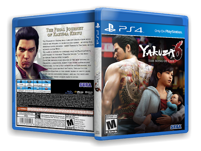 Capa Yakuza 6 The Song Of Life PS4 [Exclusiva]