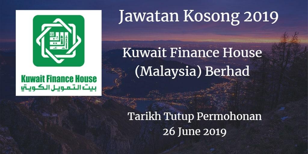 Jawatan Kosong KFH 26 June 2019