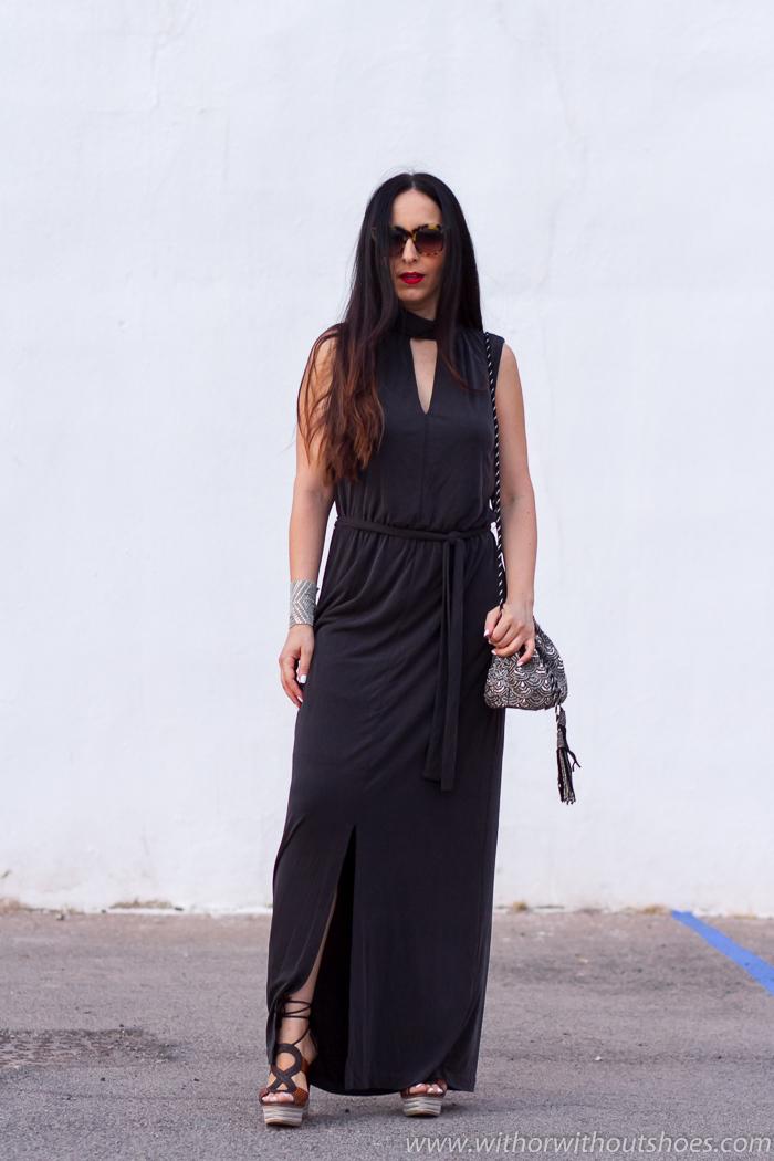 Blogger de moda valenciana con ideas para vestir femenina comoda y con zapatos bonitos