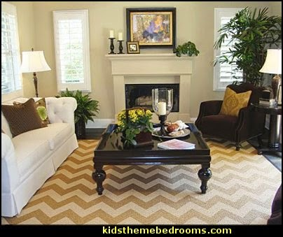 Chevron Stencil-decorating with zig zag pattern  zig zag bedroom decorating ideas - Zig Zag wall decals - Chevron bedroom decorating ideas - zig zag wallpaper mural - zig zag decor - Chevron ZIG ZAG print - Herringbone Stencil - chevron bedding - zig zag rugs -