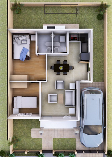 A Beautiful Small House Design Is All That We Need. If You Are Looking For