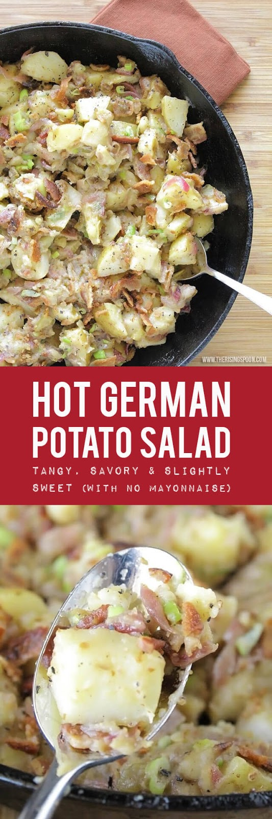 Easy Hot German Potato Salad Recipe