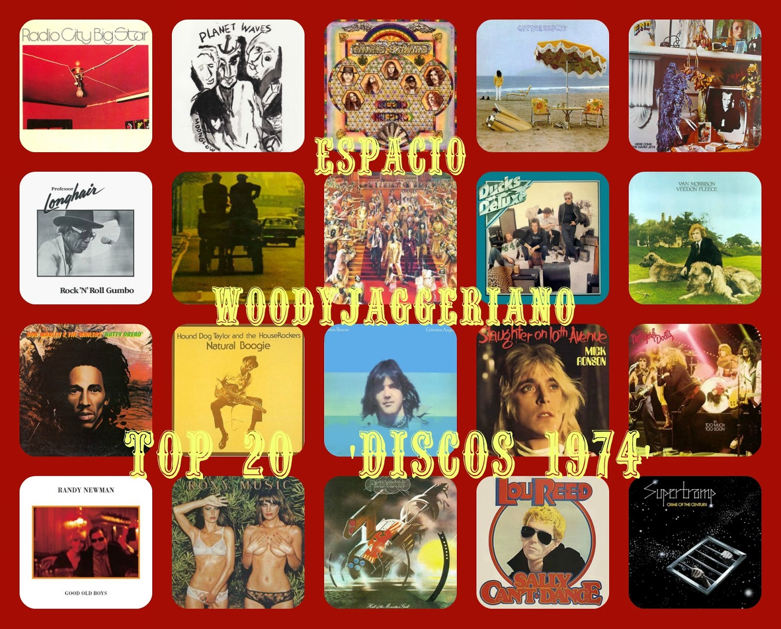 Mejores discos 1974