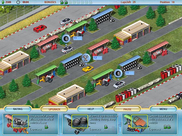 لعبة ميكانيكي السيارات
