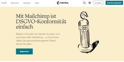 """Werbeversprechen: """"Mit Mailchimp ist DSGVO‑Konformität einfach"""" - Laut BayLDA eher nein?!"""