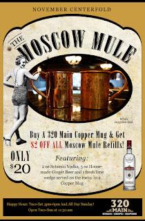 Moscow Mule pubblicità