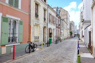 Paris : Quartier Didot, promenade du côté de Plaisance, le long des villas de la rue Didot - XIVème