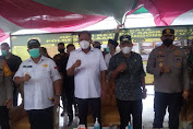 Duo Gubernur Pantau Posko Penyekatan Mudik Perbatasan Sulut - Gorontalo