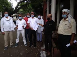 किसान विरोधी है केंद्र सरकार का दोनों अध्यादेश : घनश्याम दुबे | #NayaSaberaNetwork