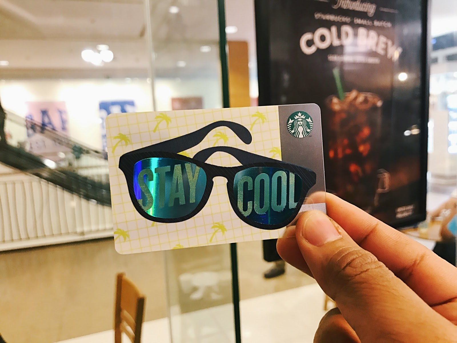 Starbucks Stay Cool Rewards Card