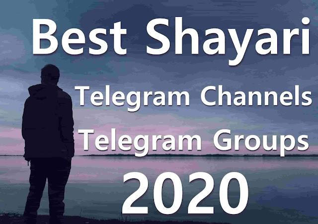 Best Shayari telegram channels 2020