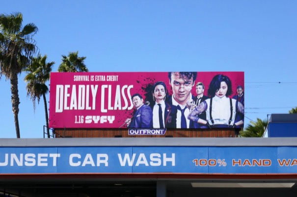 Deadly Class series billboard