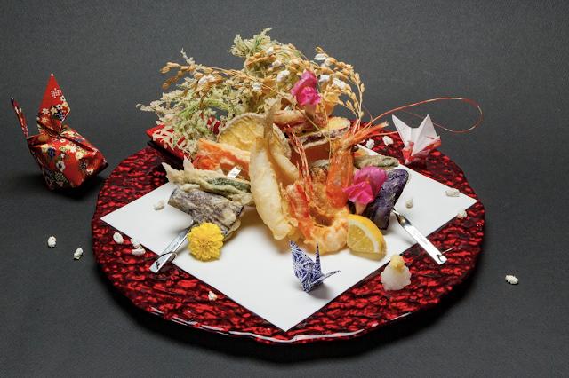 tempura soba dish