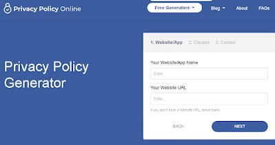 Cara membuat Halaman Privacy Policy di Blog 2021