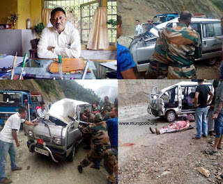 Cinchona Manager Naresh Kumar Baraily died at road accident near Seti jhora NH 10