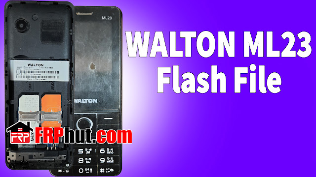 WALTON ML23 Flash File without password